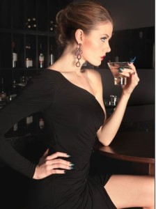 girl in bar